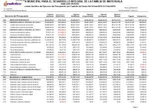 B 2.1 Registra La Etapa Del Presupuesto De Egresos Aprobado