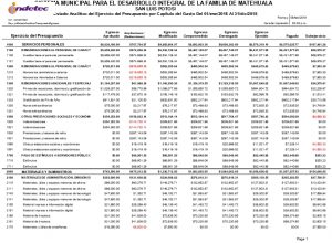 B 2.5 Registra La Etapa Del Presupuesto De Egresos Ejercido